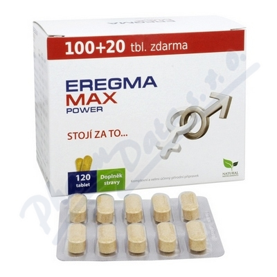 Natural Medicaments Eregma Max Power tbl.120