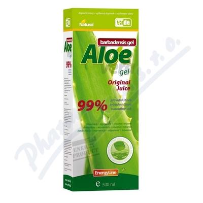 Aloe vera gel přírodní šťáva 500ml