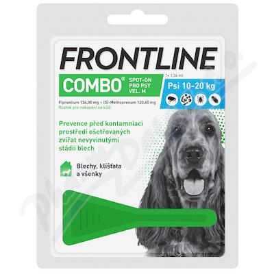 Frontline Combo Spot on Dog M 1x1 pipeta 1.34ml