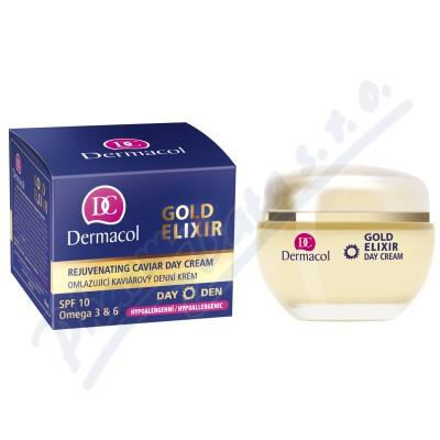 Dermacol Gold Elixir omlaz.kaviárový den.krém 50ml