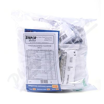 Lékárnička - nástěnná-výměn.náplň ZM 10-10 osob